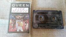 QUEEN LIVE MAGIC CASSETTE TAPE CINTA 1986 EMI TCEMC 3519 UK EDITION