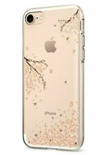 For iPhone SE (2020), 8, 7 Case, Spigen Liquid Crystal Case Cover- Shine Blossom