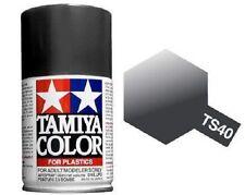 Tamiya TS-40 METALLIC BLACK Spray Paint Can 3.35 oz 100ml Mid-America Raceway
