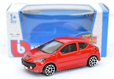 PEUGEOUT 207 1:43 Model Diecast Toy Car Miniature Cars Die Cast Red
