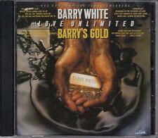 BARRY WHITE & LOVE UNLIMITED Barry´s Gold - Best Of CD Album 1993 WIE NEU R&B