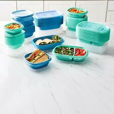 Rubbermaid 100-Piece Meal Prep Food Storage Containers Set (Teal)