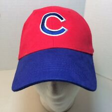 Chicago Cubs Baseball Hat Cap Canon Red with Blue Bill Kick 10 Pro Gear