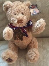 Gund Wish Bear 100th Anniversary Of The 1902 Teddy Bear, May 2002 Star & Ear Tag