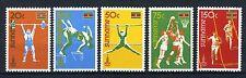 SURINAME 905/909 MNH** 1980 - Olympiade 1980.