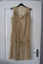 Gold Dress from French by Frost French Size 12