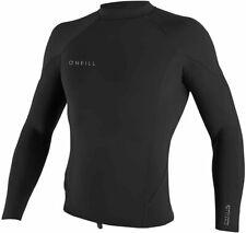 Nwt O'Neill Men's Reactor-2 1.5mm Black Long Sleeve Top XL