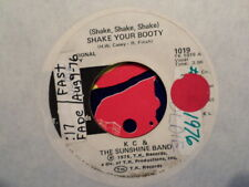 "PROMO 7"" TK 45 RECORD/KC SUNSHINE BAND/SHAKE YOUR BOOTY/ VG+ DISCO 1976"