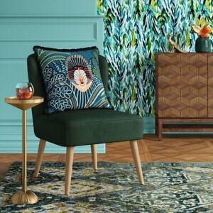 Chelidon Velvet Slipper Chair