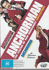 ANCHORMAN The Legend Of Ron Burgundy Collection DVD R4 - 3 Disc Set