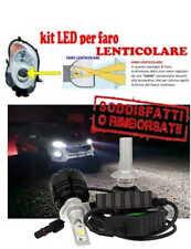 KIT LED H7 6500K FULL CANBUS XENON 14000LM LUMEN MONO LED MONOLED X LENTICOLARE