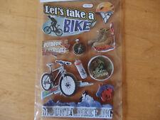Creapop - 3D-Sticker - Sport / Freizeit / Hobbies / Klettern / Fahrrad / Wandern