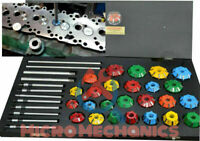 ECONOMICAL VALVE SEAT RESTORATION CUTTER TOOL KIT CARBIDE TIPPED 25 MILLS + 8 @