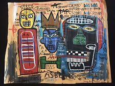 Jean Michel Basquiat LARGE Painting Original - 1985