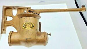 Antique Vintage Corbin Brass Door Closer Hinge Model 150 Industrial Pot Belly