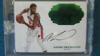 2016-17 Flawless - Flawless Autographs Emerald #FA-ADR Andre Drummond 3/5 [111]