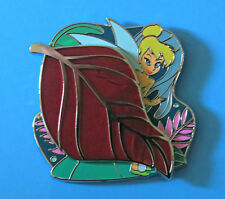 Disney Store JUNE PARK PACK TINKERBELL BEHIND A RED LEAF LE 500 PIN PETER PAN