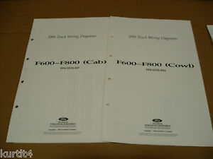 Service Repair Manuals For Ford F600