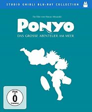 PONYO, Das große Abenteuer am Meer (Regie: Hayao Miyazaki) Blu-ray Disc NEU+OVP