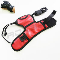 Red Wrist Hand Grip Strap for DSLR SLR Camera Canon Nikon Sony Pentax Olympus