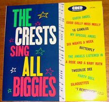The Crests sing all biggies! Teen LP!