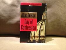 Days of Confession by Allan Folsom, First Edition 1998, Very Good Condition