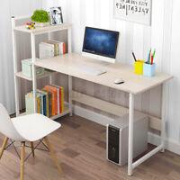 Computer Desk PC Laptop Table Study Workstation Home Office Dorm W/Bookshelf
