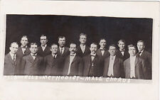 RP: Caldwells -Methodist Male Chorus , CADWELL , Idaho , 1900-10s
