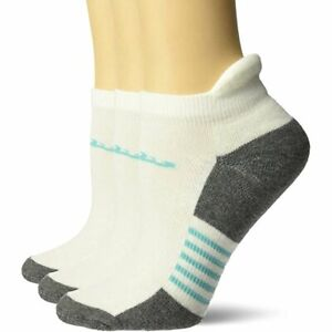 Drake Womens Sport Elimishield Cushion Comfort Tab Low Cut Ankle Socks 3 Pair