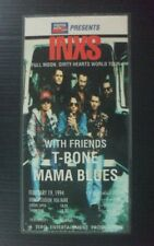 1994 INXS Full Moon, Dirty Hearts Vintage THAILAND Concert Ticket Card MEGA RARE