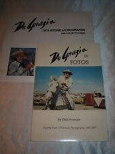 DeGrazia in Fotos 1957-1977 Ettore Ted DeGrazia SIGNED 1st/1st 1977 PB
