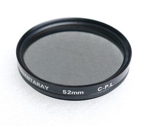 52mm Quantaray Circular Polarizer Filter - C-PL Polarizing - PERFECT