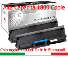 2 Toner per Samsung MLT-D111S XL Xpress M2020 M2070 M2070FW M2026 M2022W 1800