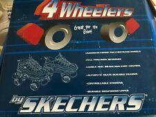 SKECHERS ROLLER SKATES (4 WHEELS) USA SIZE 2 (CHILD) 23CM,