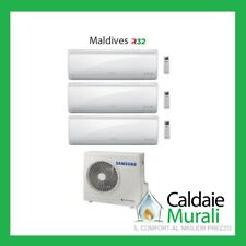 CONDIZIONATORE SAMSUNG INVERTER TRIAL SPLIT MALDIVES QUANTUM R32 9+9+12 AJ052RCJ