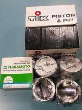 PISTON&PIN& RINGS SET MITSUBISHI COLT C11 C51 C61 1.3L  8V 4G13 +0.50 OVERSIZE
