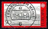 935 Vollstempel gestempelt EST Ersttag mit Gummi BRD Bund Deutschland 1977