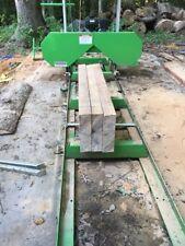 Saw Mill Sawmill Bandmill Portable 301cc Gas Engine cuts 20 in. diameter
