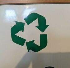 RECYCLE Trash Clean Decal Sticker Home Office School Recycling Renew and Reuse