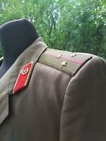 Jacket Shirt Tie Officer's Army Coat Olive Size:L With Pants Sz: L, USSR