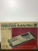 SEGA MARK III 3 Console System Tested Ref 3954655 Game