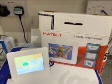 Matsui 5 inch Digital Photo Frame PF-A500X - White