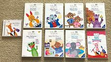 9 Baby Einstein dvd cd lot Beethoven Monet da Vinci Mozart Bach - Disney company