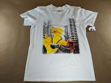 Sesame Street T-Shirt White Size Small NEW Big Bird