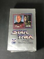 1991 IMPEL STAR TREK OFFICIAL TRADING CARDS (36) PACK SEALED BOX