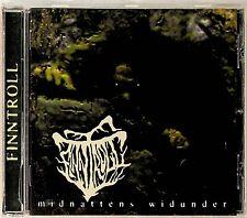 Finntroll- Midnattens Widunder CD (2019 Folk/Black Metal) Reissue of 1999 Debut