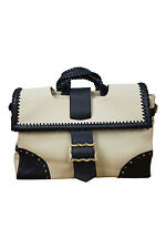 *TEMPERLEY* LONDON LARGE CANVAS LAPTOP BAG