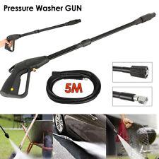 High Pressure Washer Spray Gun + 5m Washing Hose Kit For Car Jet Lance Washing