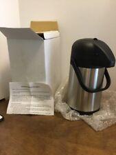 54 Ounce Stainless Steel Airpot New Hot Liquid Dispenser
