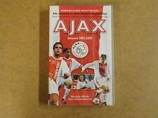 VHS VIDEO CASSETTE VOETBAL / AJAX SEIZOEN 2002-2003